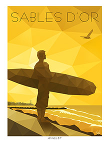 ANGLET, Sables d'Or, Ref. A2